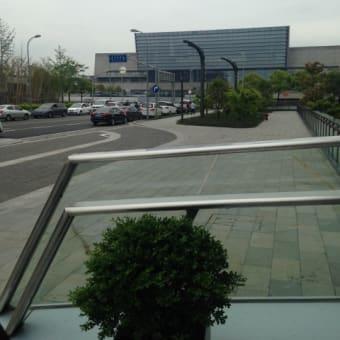 虹橋空港横にあらたなショッピングモールが 1