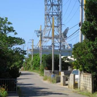 迷子の目印です!NTT鉄塔