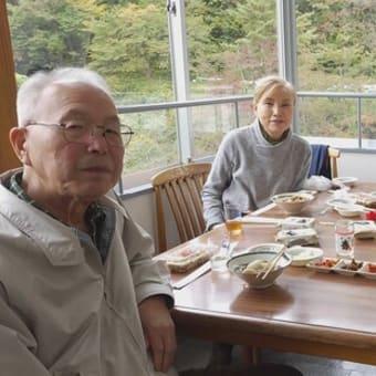 面白山高原で芋煮会
