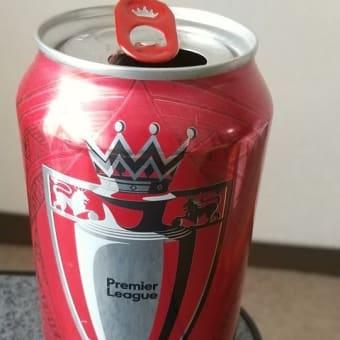 BUD(PremierLeague缶)でLFC優勝に乾杯