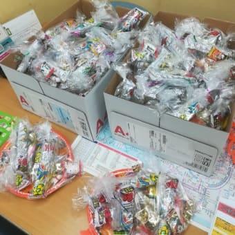商店会ハロウィンイベントでご近所のお子様にお菓子無料配布いたしました!