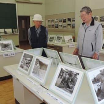 旧白崎中学校に故・岩崎芳幸さんの「ふるさと写真展示室」設置、25日一般公開 〈2015年5月16日〉