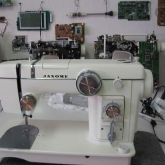 ジャノメミシン修理 トピアエース 802