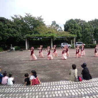 畑岡奈紗・第9回江南福祉ふれあい祭り