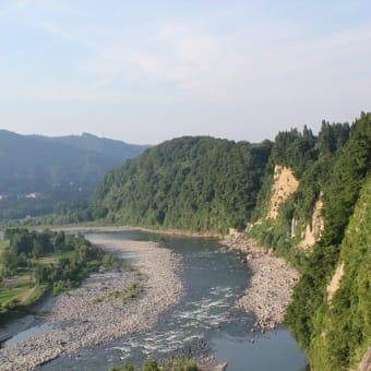 千曲川と信濃川のスケッチ