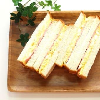 おうちパーティーにサンドイッチはいかがでしょうか♬横浜の美味しいパン かもめパンです(*'▽')