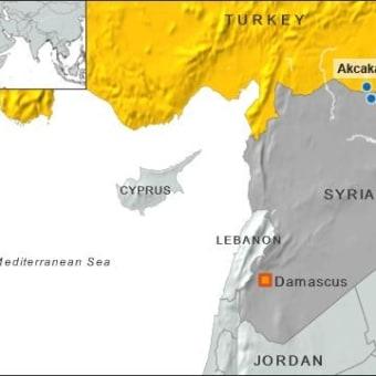 シリア戦場ライブ クルド人地区 タルアビヤッド 10月13日