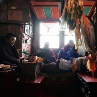チベット仏教寺院 厳冬期の儀式