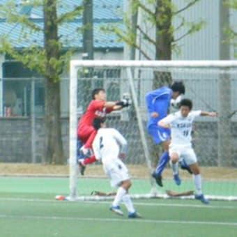 第90回全国高等学校サッカー選手権富山県大会準々決勝