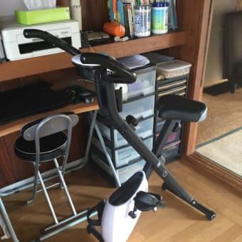 筋トレ自転車