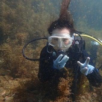 9月27日(月)体験ダイビングin 松江!海水につかって、癒されちゃってください(笑) かなりのリフレッシュになったかなー!!
