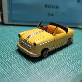 1/43 CCC F ROVIN D4 銀箔貼り込み