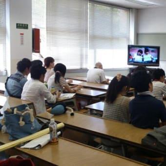 「ちょんまげ隊 隊長被災地支援報告会」 in 愛知東邦大学