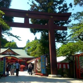 宮城縣護國神社も立ち寄りました。