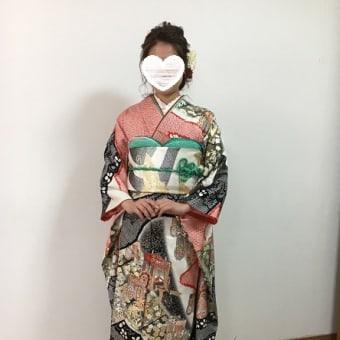 31.5.6成人式のリハーサル3人目は、富田林市のH様でした。