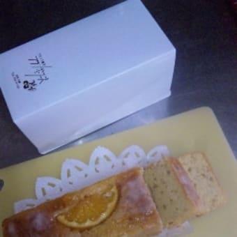 フランボワーズの「みかんケーキ」