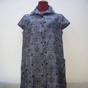 沖縄の着物からベストチュニック