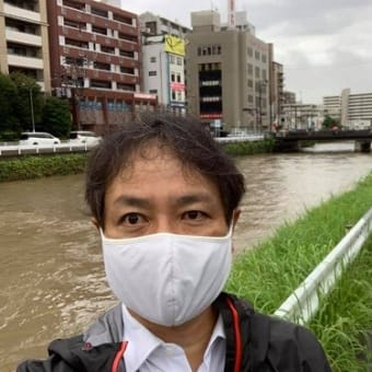 【樋井川の水位】