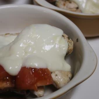鶏むね肉のホワイトソース