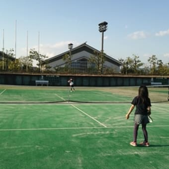 テニスコート♪