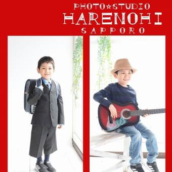 3/27 入学記念写真 自然に♫ 札幌写真館フォトスタジオハレノヒ