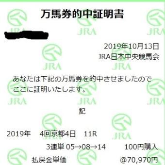 競馬 秋華賞の予想(2019)