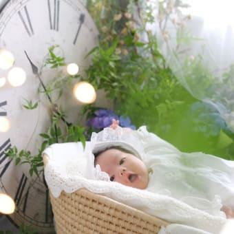 ニューボーンフォト(お宮参り・赤ちゃん記念写真)
