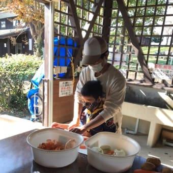 11月15日(日) 野外料理本番