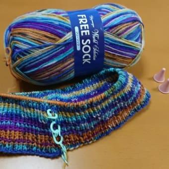 編み編み楽しい〜