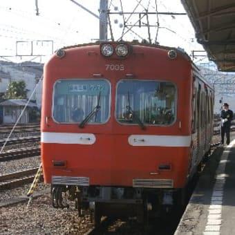 岳南鉄道吉原駅にて。