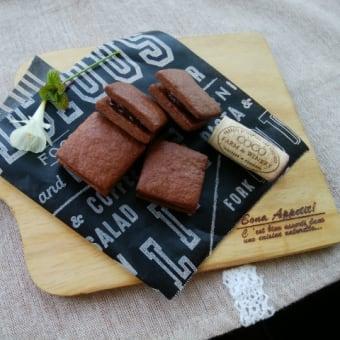 ショコラバターサンドと牛すじのお店。