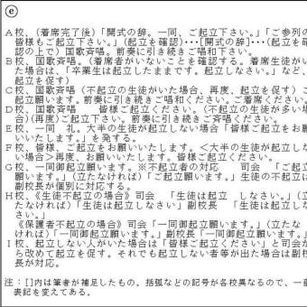 国家儀礼としての学校儀式・その2(桃井銀平)