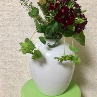 お花をありがとう。