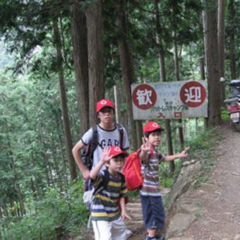8月末のキャンプ