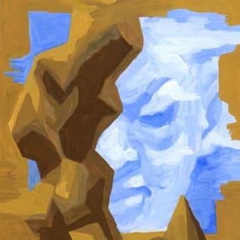 「サロン」展示10(アクリル画)