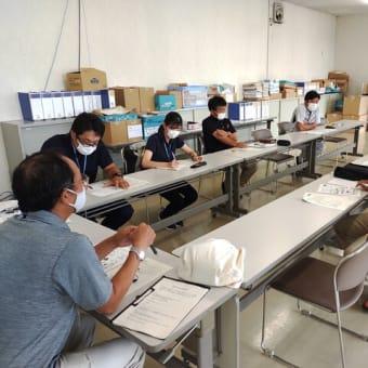 子実用とうもろこしの生産拡大に向けた現地試験打合せを行いました。