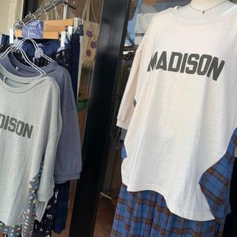 ワンピ、ジップ羽織り、Tシャツ、いろいろ春夏コーデ