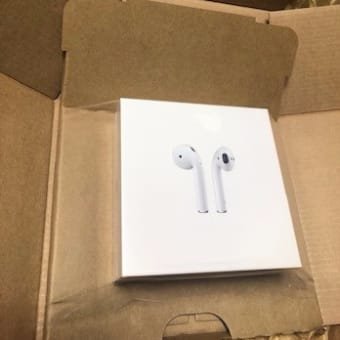 【Apple】新型AirPodsが届いたよ♪