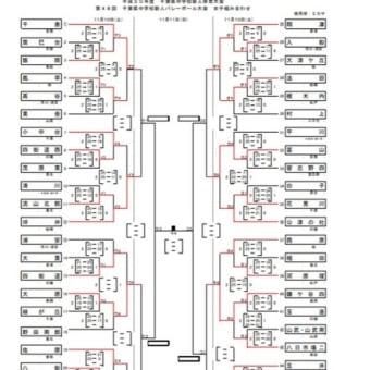 第48回千葉県中学校新人バレーボール大会