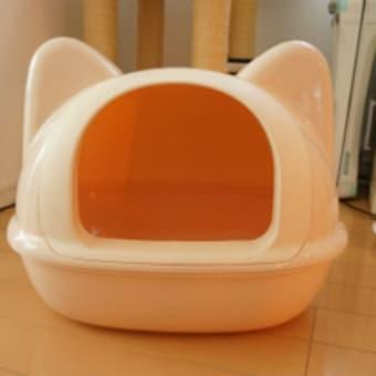 ネコ型ネコトイレ