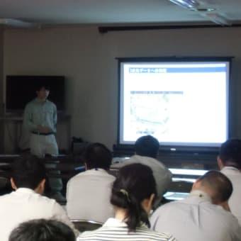 ドローン研修会in東松山農林振興センター(その1)