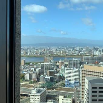 インターコンチネンタルホテル大阪「ピエール」にてランチ♪