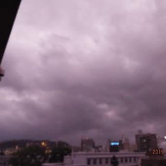 2019年08月15日(木) 曇り、小雨+強風(台風10号)→ 中国地方へ。 「終戦記念日」