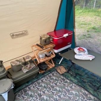 2021.4/15(木) ソロキャンプ。