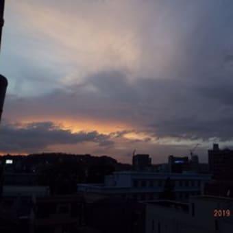 2019年08月20日(火) 曇り、のち、薄日。 蒸し暑い。。