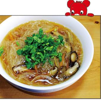 台湾の新竹米粉(ビーフン)で麺線ふう
