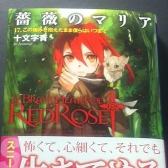 薔薇のマリア17巻の感想レビュー(ライトノベル)