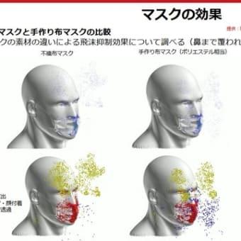 マスク 手洗いは、ワクチンよりも効く その上副作用もほとんどない
