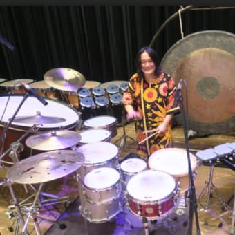drum solo by Hiroshi Chu Okubo / カクテルドラム・ソロ 大久保宙