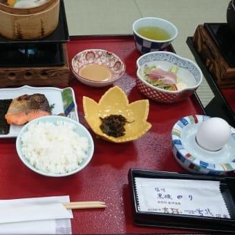 昼神温泉、ホテル吉弥さんの朝食(2016.12.04)